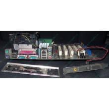 Материнская плата Asus P4PE (FireWire) с процессором Intel Pentium-4 2.4GHz s.478 и памятью 768Mb DDR1 Б/У (Лобня)